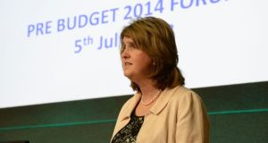 """The reforms also aim to bring Ireland's support for lone parents in line with international provisions,"" said a spokeswoman for Minister for Social Protection Joan Burton.   Photograph: Frank Miller/	The Irish Times"