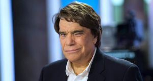 French businessman Bernard Tapie: under formal investigation on suspicion of fraud. Photograph: Fred Dufour/Reuters