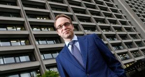 Germany's  Bundesbank president and ECB policymaker Jens Weidmann said the ECB was not tied to keeping rates at record low levels. Photograph: Kai Pfaffenbach/Reuters.