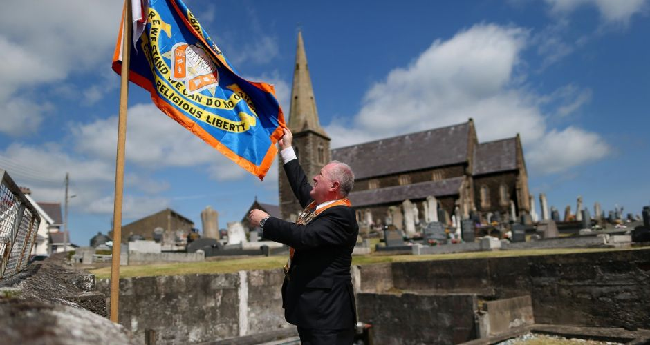 Orangemen on the march