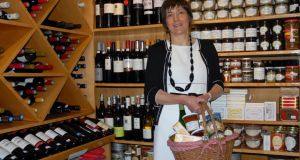 Françoise Gilley in Terroirs wine and food shop in Donnybrook, Dublin 4