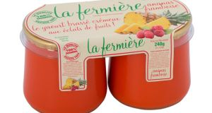 La Fermière yoghurts, from good food shops