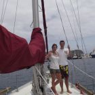 Eithne Sweeney and Myles Henaghan: put their marriage through stress testing by sailing a 35ft boat across two major oceans
