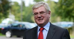 Responding to opposition criticism of the overnight debate, Eamon Gilmore said the abortion legistlation was 'sensitive' and ' felt that time should be given'. Photograph: Cyril Byrne/The Irish Times