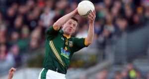 Kevin Reilly: The Meath man has had six intercounty managers since his debut in 2005. Photograph: Donall Farmer/Inpho