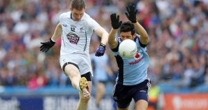 Cian O'Sullivan's move to the Dublin midfield has proved, so far, to be hugely successful. Photograph: Inpho
