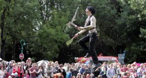 Let them entertain you: the Street Performance World Championship is on in Merrion Square. What are you waiting for? Contortionists and sword-swallowers are awaiting your gasps in Dublin 2.