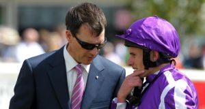 Aidan O'Brien: aiming to break more records this weekend at Newmarket and Paris.