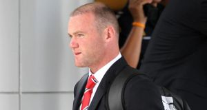 "Wayne Rooney, says he ""gutted"" to have picked up a niggling injury preseason."