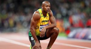 The athletic world has been rocked by the news of Jamaican sprinter Asafa Powell (above) and American Tyson Gay  both failing doping tests.