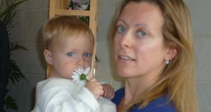 Laura Perrins with daughter Annabel.