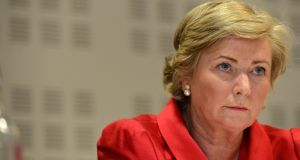 Minister for Children Frances Fitzgerald said it appeared many families were not accessing the supports they were entitled to. Photograph: Dara Mac Dónaill/The Irish Times