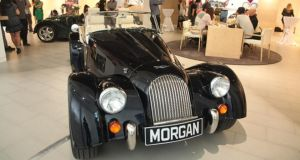 The British hand-built classic sports car Morgan has just opened its first shop in the Workers' Stadium in downtown Beijing
