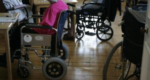 A confidential Government report  showed  just 10 of the 109 public nursing homes meet new standards to be enforced by the Health Information and Quality Authority in 2015.