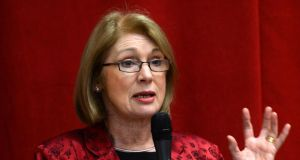 Minister of State for Housing Jan O'Sullivan: said the principal aim of the regulations is to put organisations on a better footing to secure private finance from banks and other institutions. Photograph: Frank Miller/The Irish Times