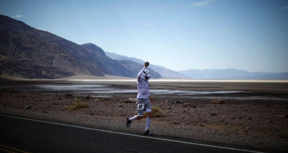 A nice jog in Death Valley
