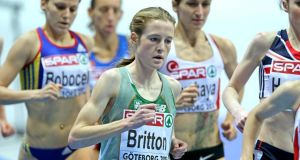 "Fionnuala Britton will take an ""extended break"" from running and miss the championships in Moscow"