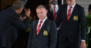 "Wayne Rooney: ""angry and confused"" over his treatment by his manager. Photograph: Chaiwat Subprasom/Reuters"