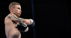 Carl Frampton will miss Saturday's fight against Everth Briceno