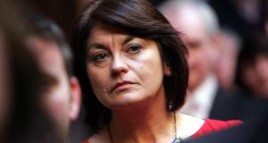 Senator Fidelma Healy Eames who voted against the Government on the issue this evening