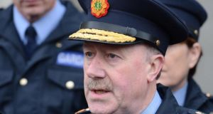 Garda Commissioner Martin Callinan who has said no paramilitary trappings will be permitted at funerals. Dara Mac Dónaill /The Irish Times
