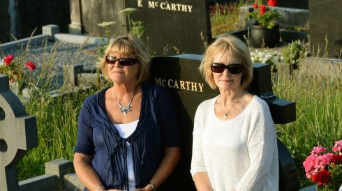 Sunglasses in the cemetery. Photograph: Frank Miller/The Irish Times