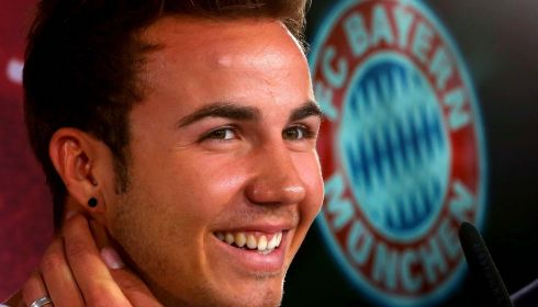 Mario Goetze broke the hearts of Dortmund fans by departing for Bayern Munich for a reported €37 million. Photograph: Alexander Hassenstein/Bongarts/Getty Images