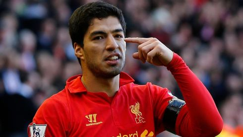 Everyone wants a piece of Liverpool's Luis Suarez, it seems, despite recoiling in horror at the mere mention of his name over the last few years. The serious contenders will need to part with around £40 million, in cash, players or bottle caps. Photograph: Phil Noble/Reuters
