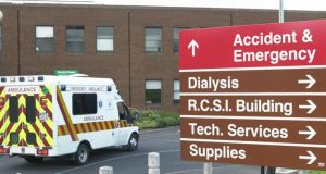 Injured man was airlifted from  local GAA pitch to Beaumont Hospital, Dublin.
