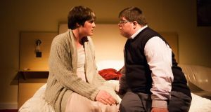 Charlene Kelly and Kieran Coppinger in Blue Teapot Theatre's Sanctuary