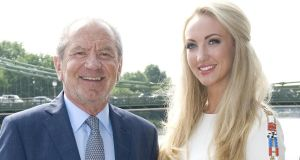 Lord Sugar unveils Leah Totton as the winner of The ApprenticePhotograph: Ian West/PA Wire