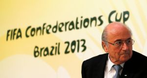 "Sepp Blatter: ""You can cool down the stadiums, but you can't cool down the whole country."""