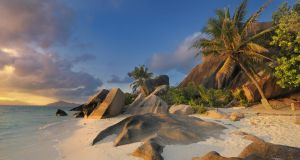 White sands, blue seas ... what more do you want from the Seychelles