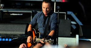 Bruce Springsteen will perform his first gig in Cork tonight. Photograph Matt Kent/Getty Images