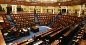 The Dáil chamber: Three-line whips overused and need to be loosened