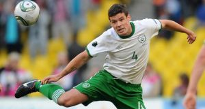 The  Republic of Ireland's Darren O'Dea has joined Metallurg Donestk on a thre0year deal. Photograph: Vladimir Astapkovich/PA Wire.