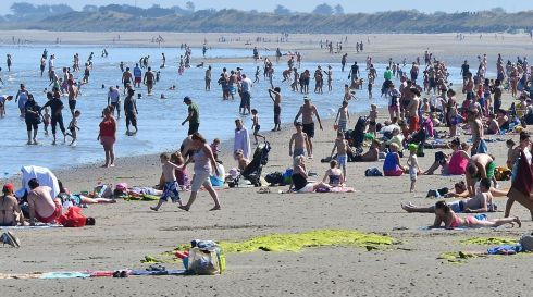 The best type of a family day out, and it costs almost nothing.  Photograph: Alan Betson/The Irish Times