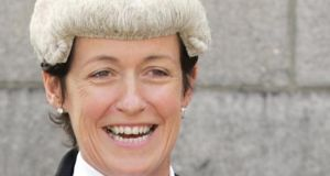 Ms Justice Mary Irvine. Photograph: Eric Luke/The Irish Times