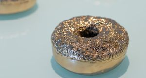 Durable doughnuts in polished bronze