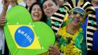 Five hundred thousand cheaper tickets for next year's World Cup will be set aside exclusively for Brazilians. Photograph: Kai Pfaffenbach/Reuters