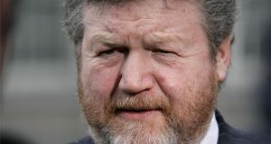 Minister for Health, James Reilly: will be seeking reassurances that protocols to prevent a recurrence are sufficient. Photographer: Dara Mac Dónaill
