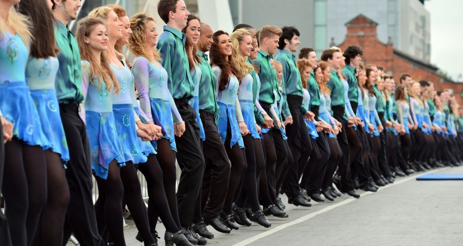 Riverdance World Record attempt