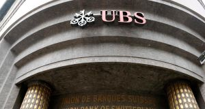 UBS said its second-quarter profit beat forecasts, even after an 835 million Swiss franc (€698 million) charge to settle a US lawsuit. Photo: Reuters