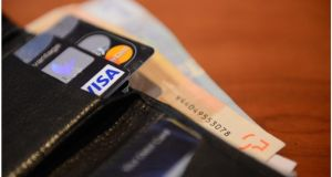 Irish consumers may be hit with higher fees by credit card companies. Photograph: Bryan O'Brien