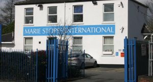 A Marie Stopes clinic in the United Kingdom. Almost 4,000 women travelled to England for abortions in 2012. Photograph: Ross Parry