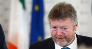 Minister for Health Dr James Reilly. The IMO has said that it wants to represent GPs in the same manner as the Minister  did when he held a senior role in the doctors' trade union several years ago. Photograph: Dara Mac Dónaill/The Irish Times