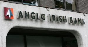 "Change ""was made on foot of an internal review by Anglo Irish Bank"". Photograph: Frank Miller"