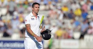 England's Kevin Pietersen is 'stuck on a sofa tightly fastened to an ice machine' in a bid to be ready for the third Ashes Test at Old Trafford on August 1st. Photograph: Adam Davy/PA