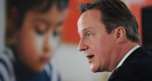 British prime minister David Cameron's ISP  plan comprises little that is new. Photograph: Stefan Rousseau/PA Wire