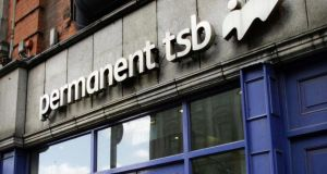 Earlier this year Permanent TSB came back to the lenders' table. Photograph: Bryan O'Brien